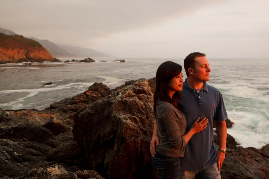 Big Sur coast engagement