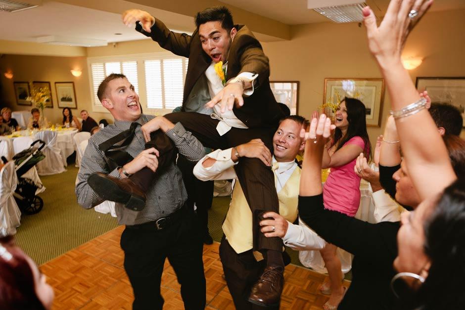 Carmel La Playa Hotel wedding