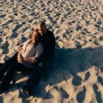 Carmel Beach engagement