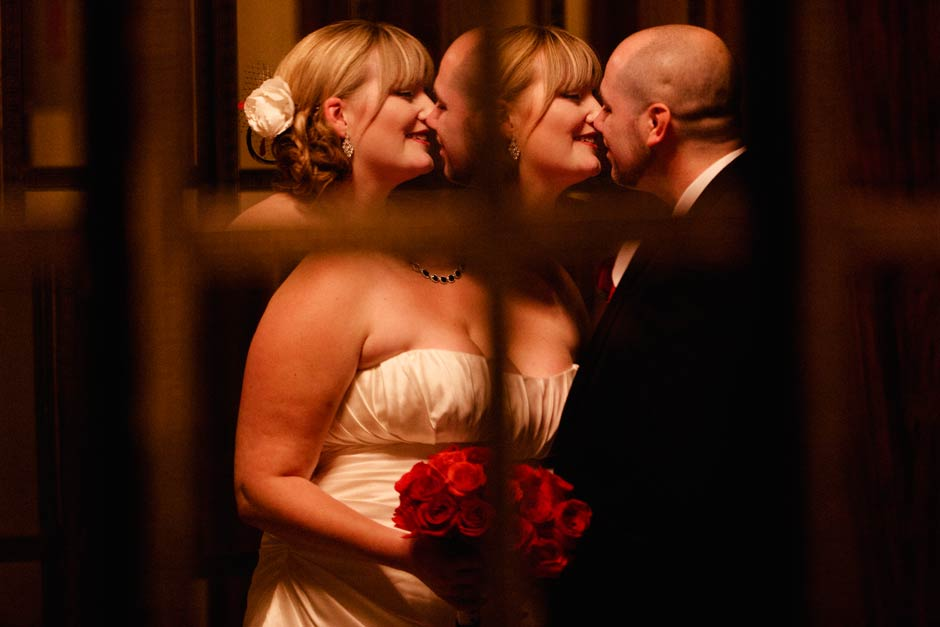 Hotel Whitcomb wedding portrait