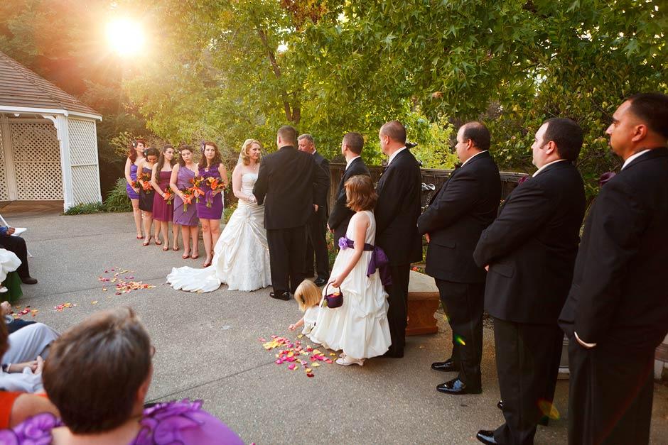 Lake Natoma Inn wedding