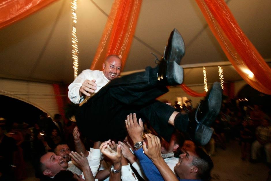 Leal Vineyards Hollister wedding reception