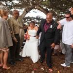 Lovers Point wedding Monterey