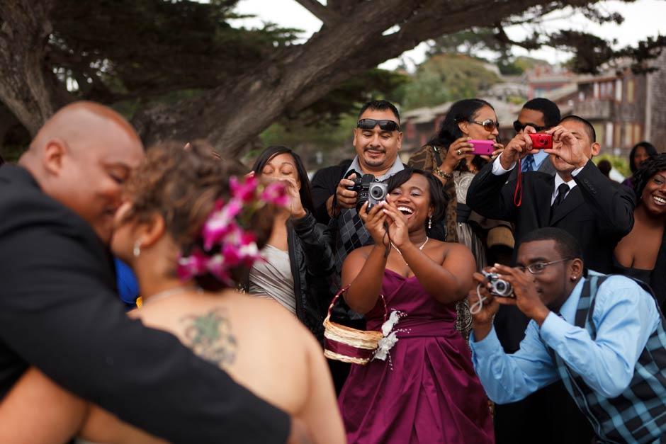 Monterey Lovers Point wedding