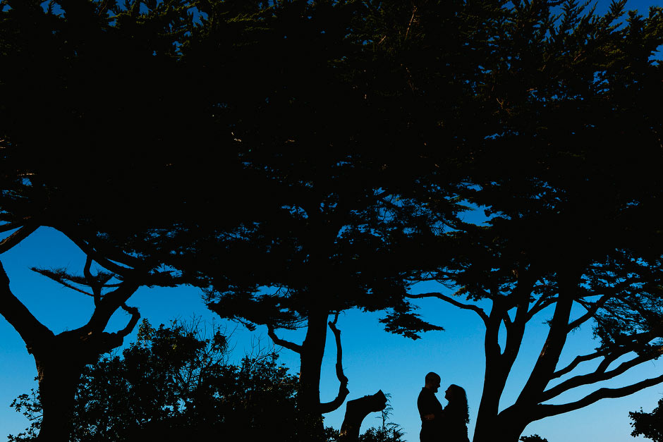 Lover's Point engagement Monterey
