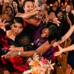 Monterey Marriott wedding reception