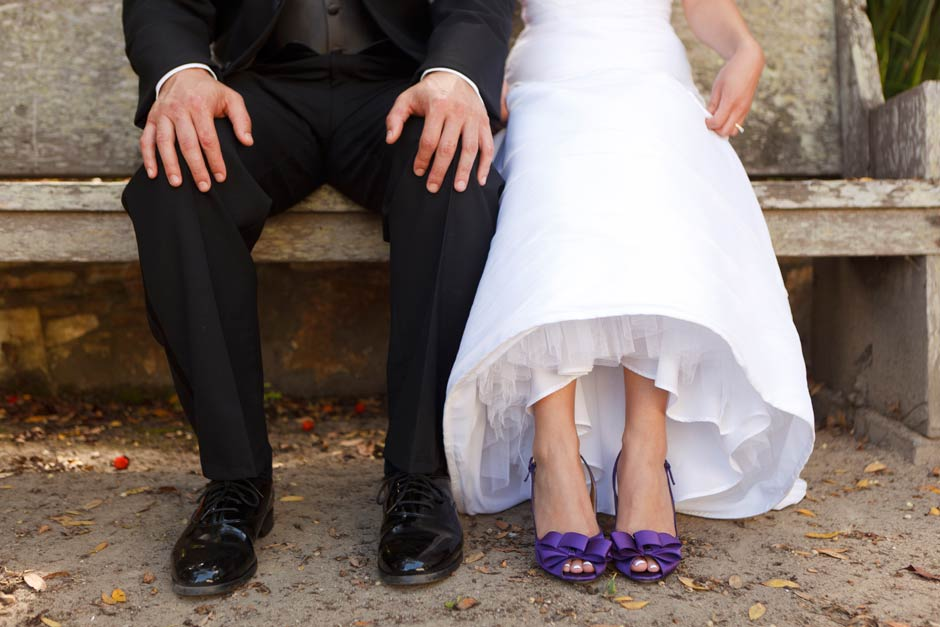 Monterey wedding shoes