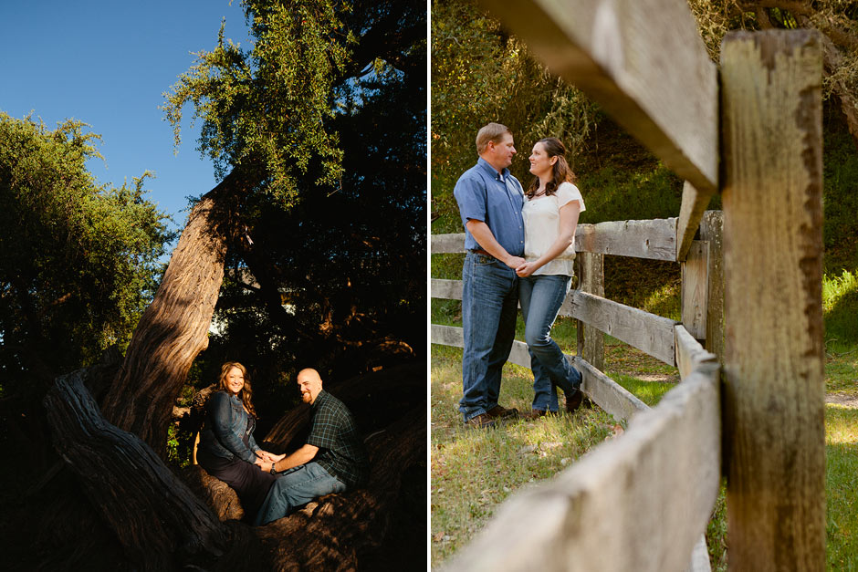Monterey County engagement session
