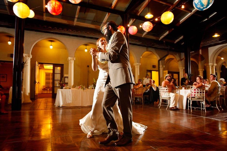 Occidental College wedding