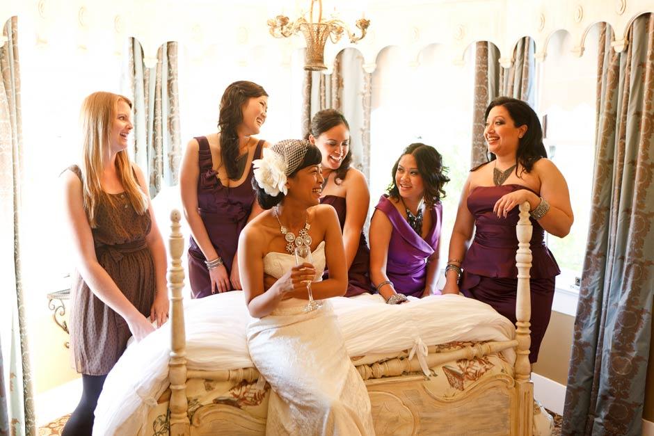 Perry House Monterey wedding