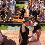 Redwood City backyard wedding