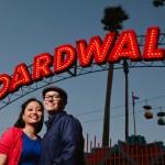 Santa Cruz Boardwalk engagement