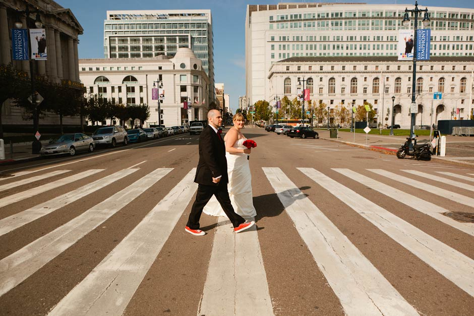 downtown San Francisco wedding