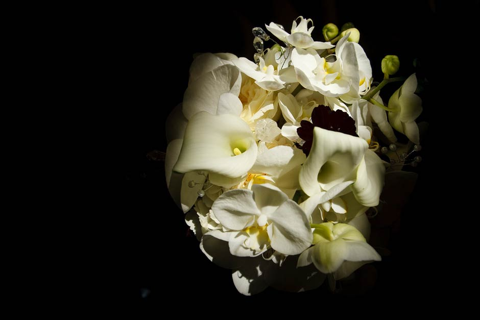 wedding flowers close-up