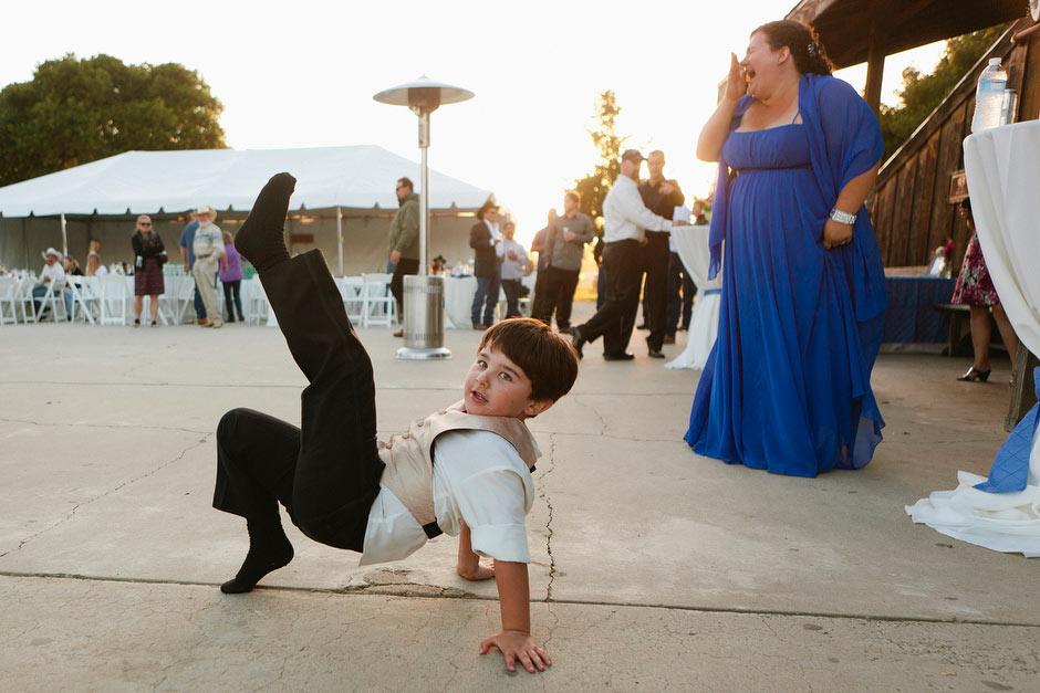 wedding reception funny dance