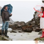 Pfeiffer Beach Big Sur wedding photo