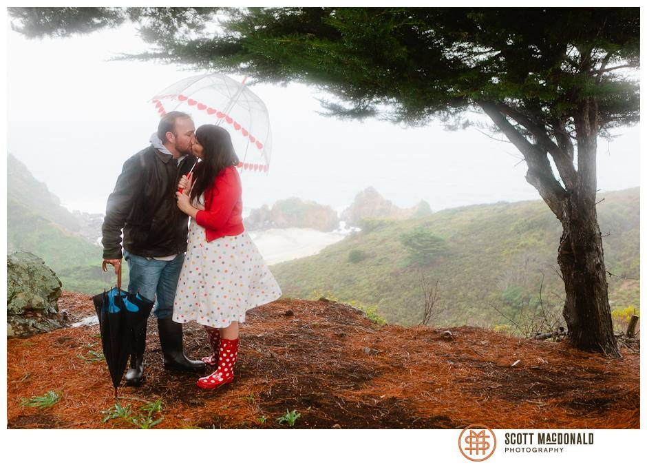 Clear Ridge Big Sur wedding photo