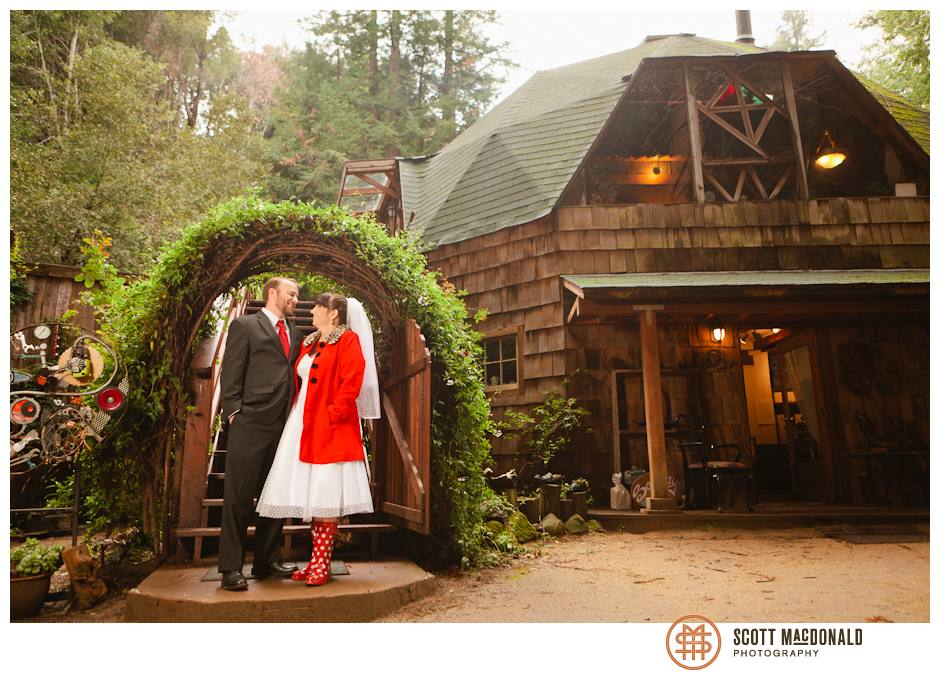 Big Sur wedding at The Dome
