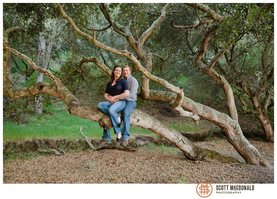 Toro Park engagement photo