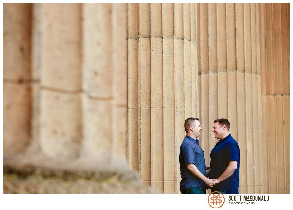 Palace of Fine Arts same-sex engagement