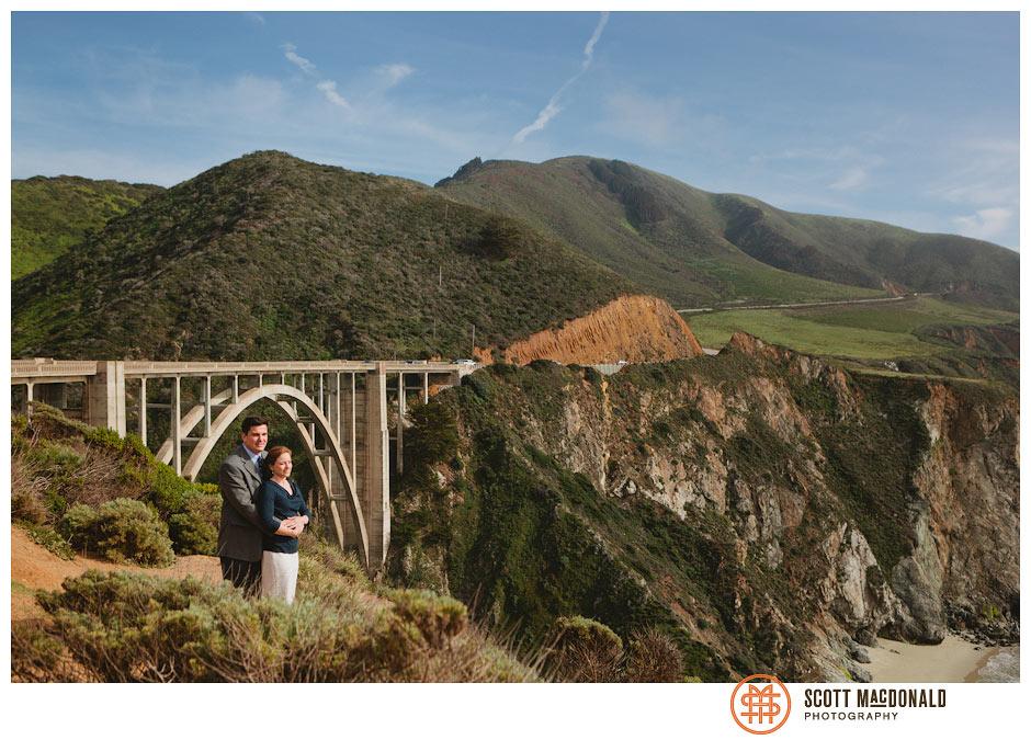 Susan & Eric's Big Sur engagement session