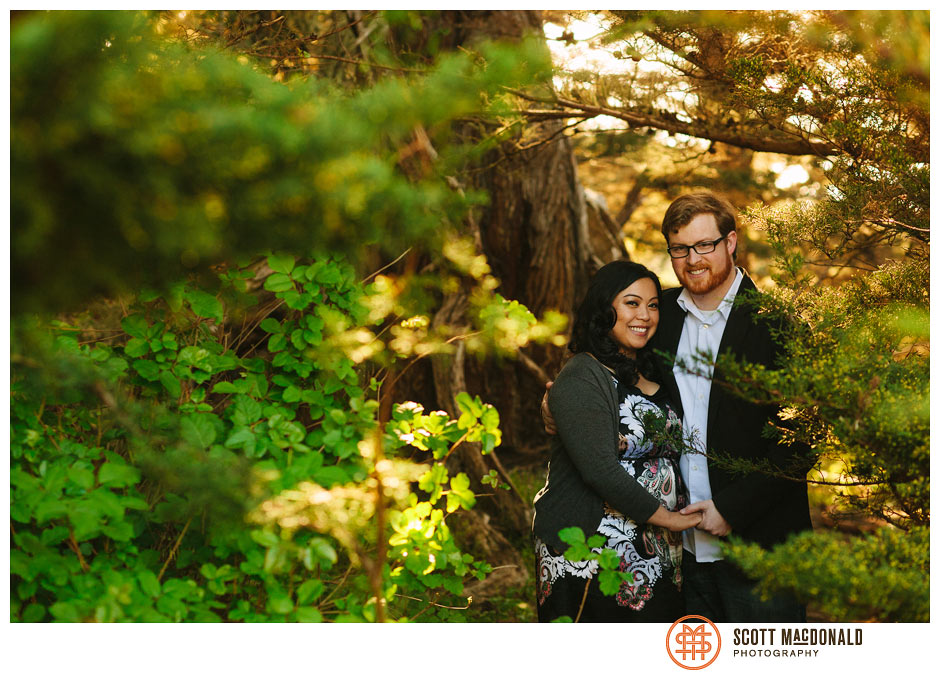 Lorna & Jim's Big Sur engagement session