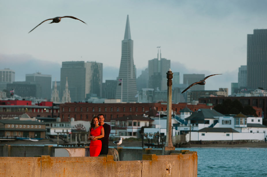Hayley & Matt's San Francisco engagement session