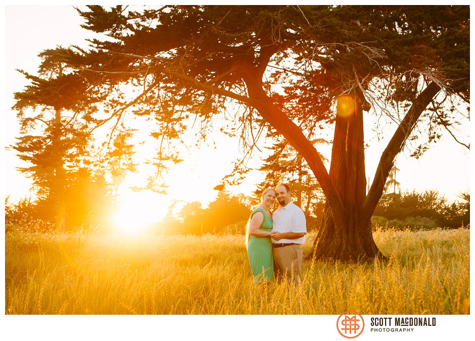 Jen & Gordon's Santa Cruz engagement session