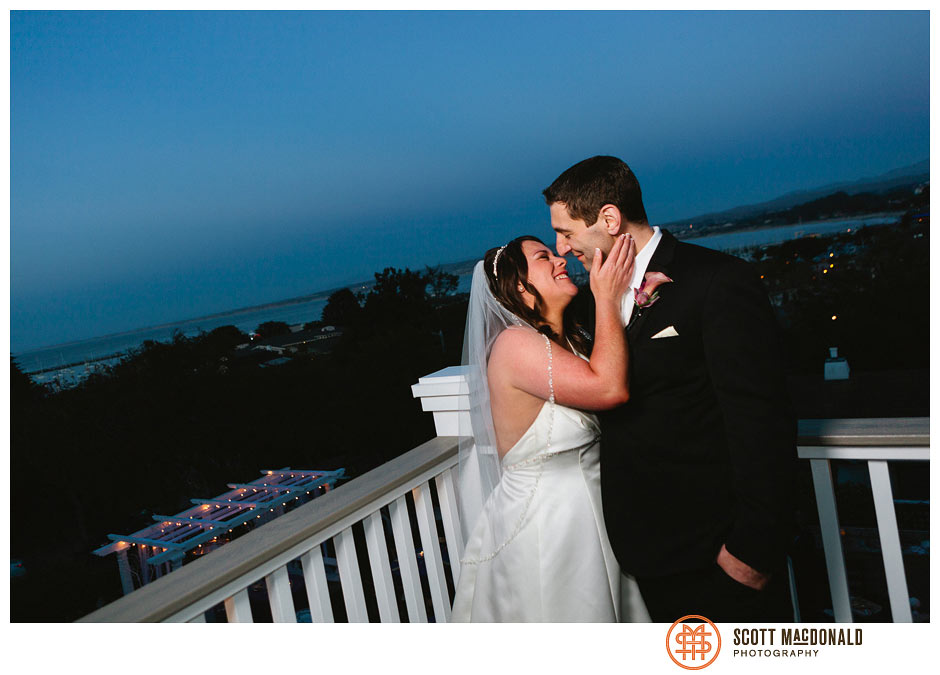 Ilene & Mike's Monterey wedding