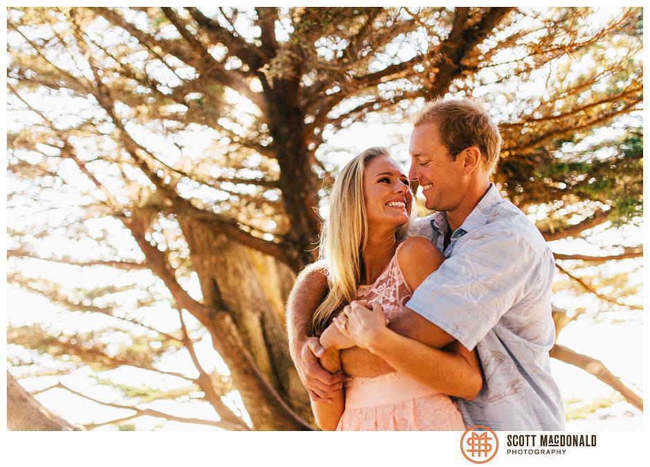 Lauren & Roger's Carmel engagement session