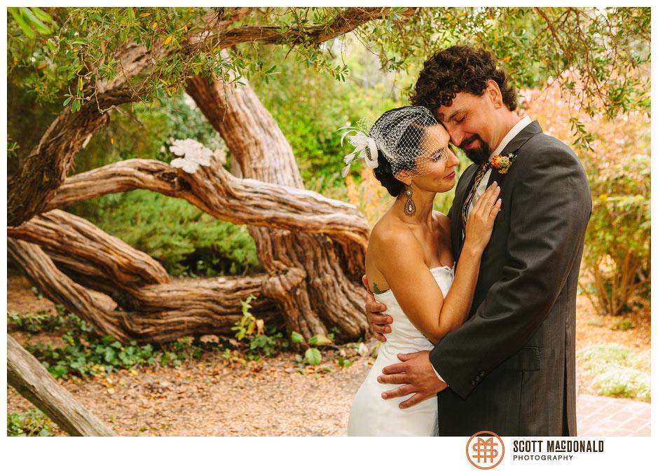 Michelle & Bryan's Memory Garden Monterey wedding