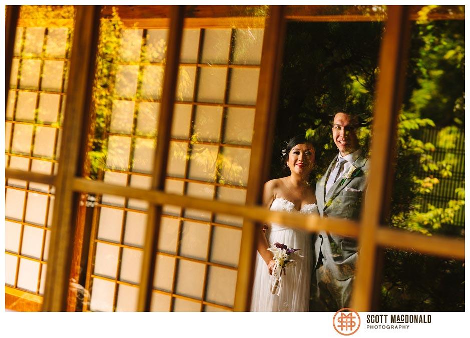 Eula & Jimmy's Hakone Gardens wedding