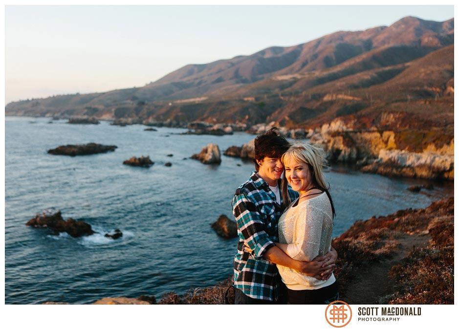 Taylor & Kip's Big Sur engagement session