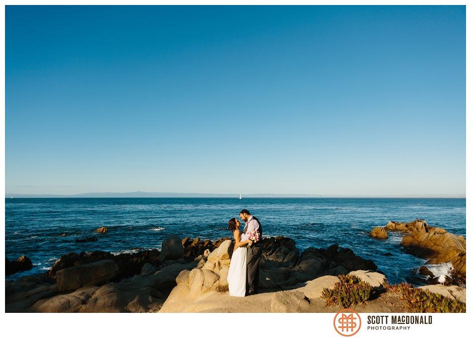 Felicia & Hunter's Pacific Grove wedding