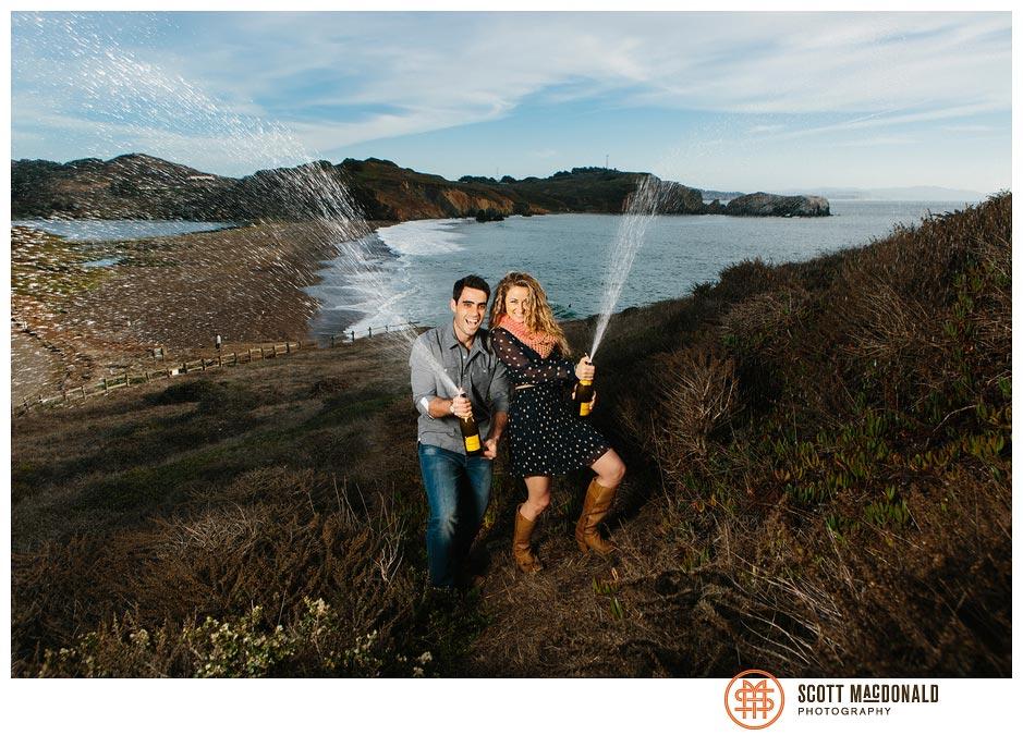 Kaylin & Greg's Marin Headlands engagement