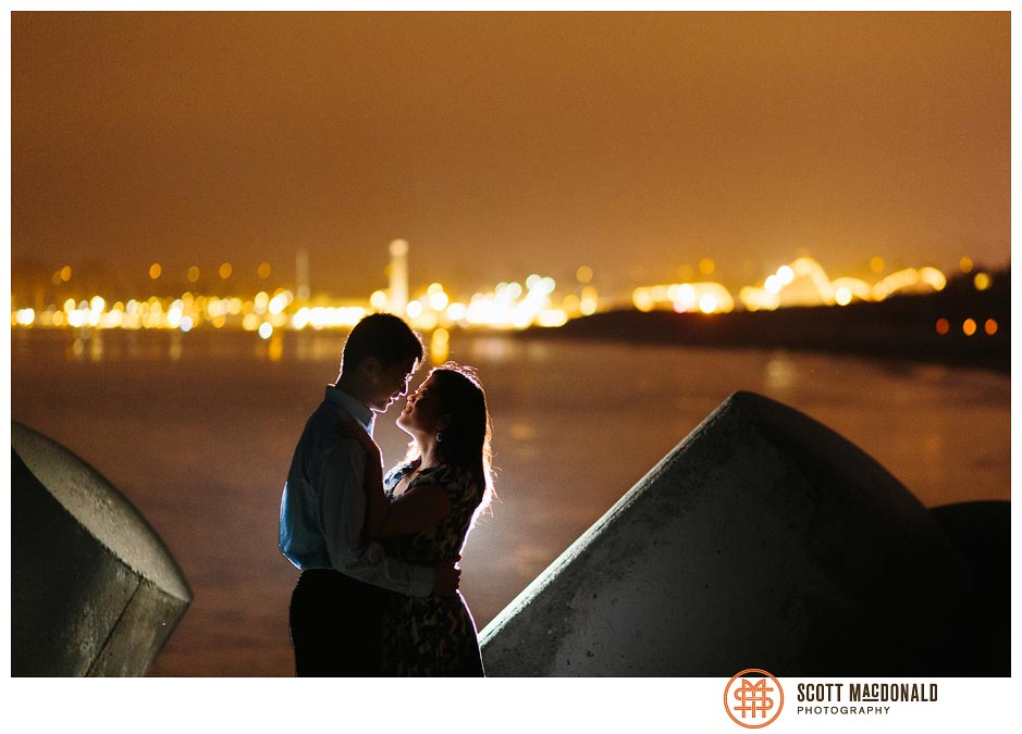Linda & Yi's Santa Cruz Beach Boardwalk engagement session