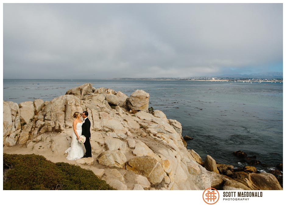Lisa & Tom's Monterey Plaza Hotel wedding