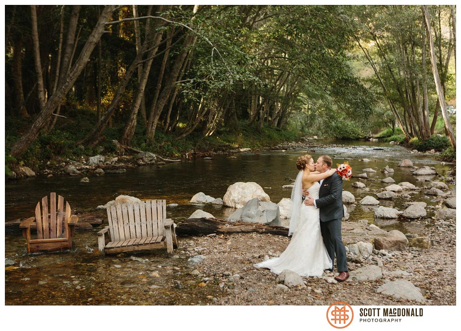 Katie & Dan's Big Sur River Inn wedding