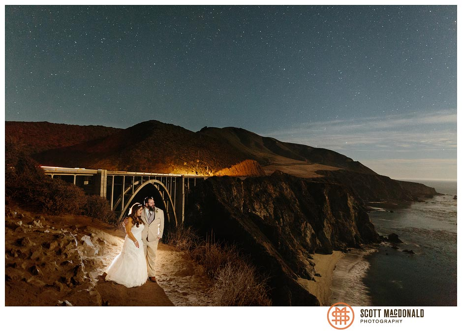 Blanca & John's Big Sur River Inn wedding