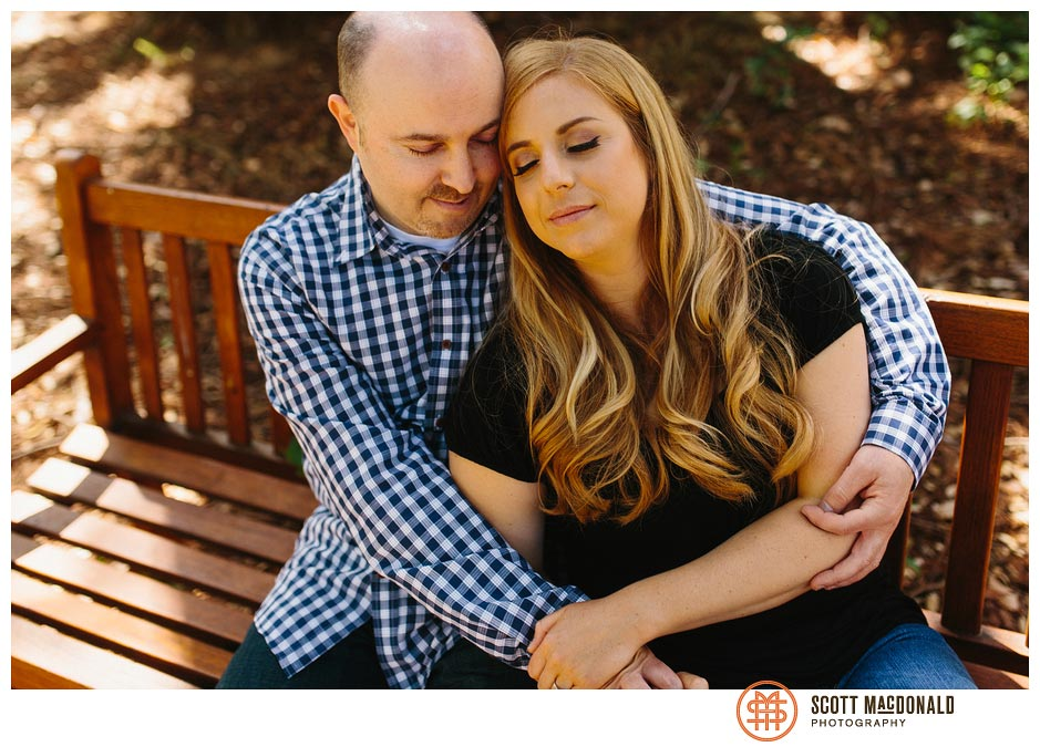 Katie & Brian's Stanford University engagement session