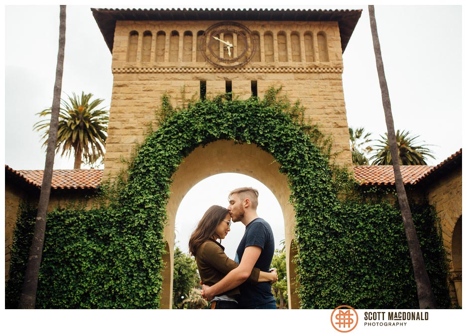Stephanie & Tony's Stanford engagement session