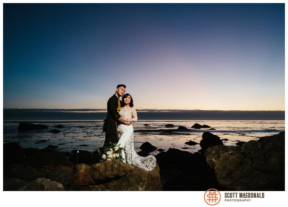 Wind & Sea Big Sur wedding