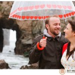 Pfeiffer Beach Big Sur wedding photo