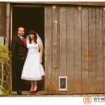 rustic Big Sur wedding photo