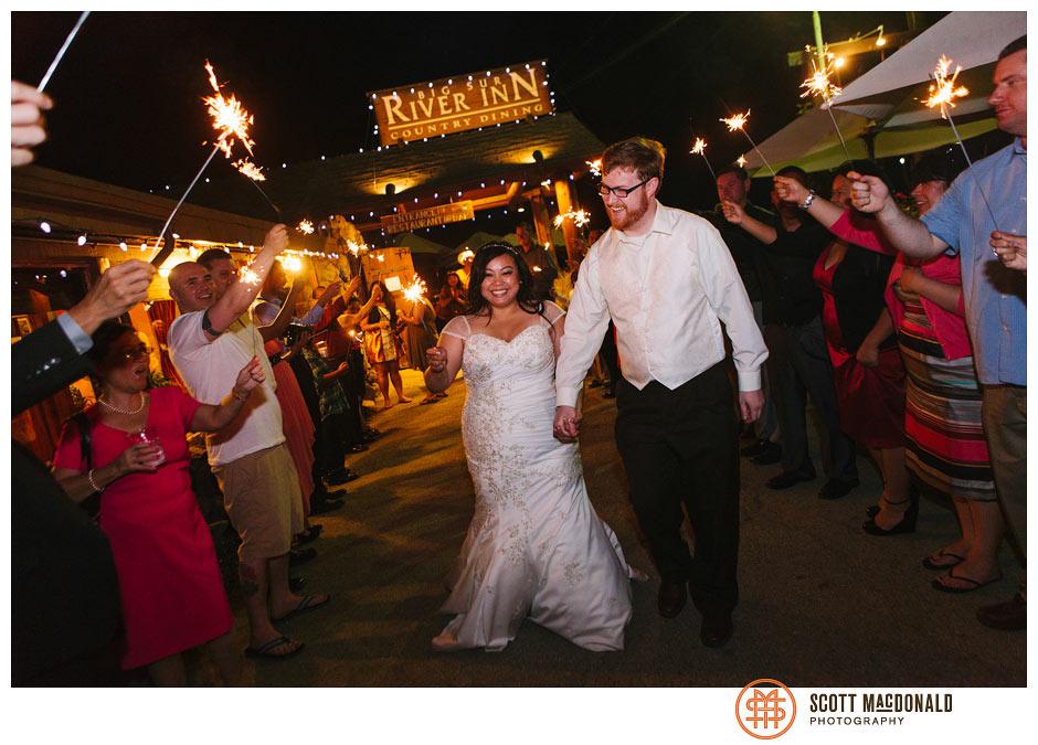 Lorna & Jim's Big Sur River Inn wedding