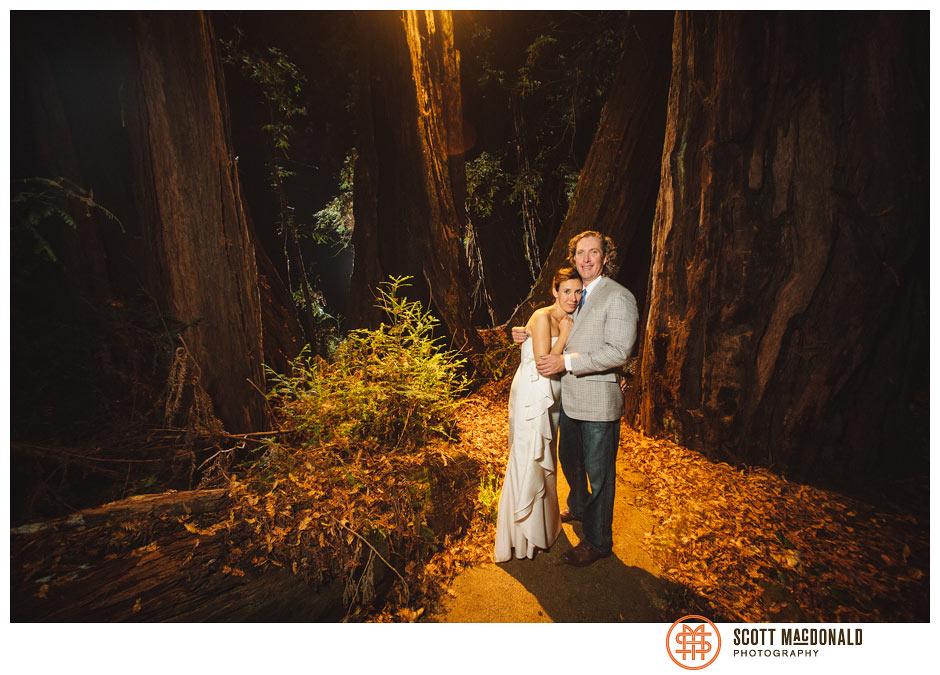 Dasha & Henry's Big Sur Grange wedding