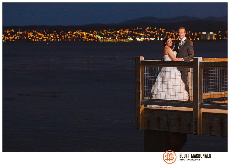 Candice & Andy's Monterey wedding