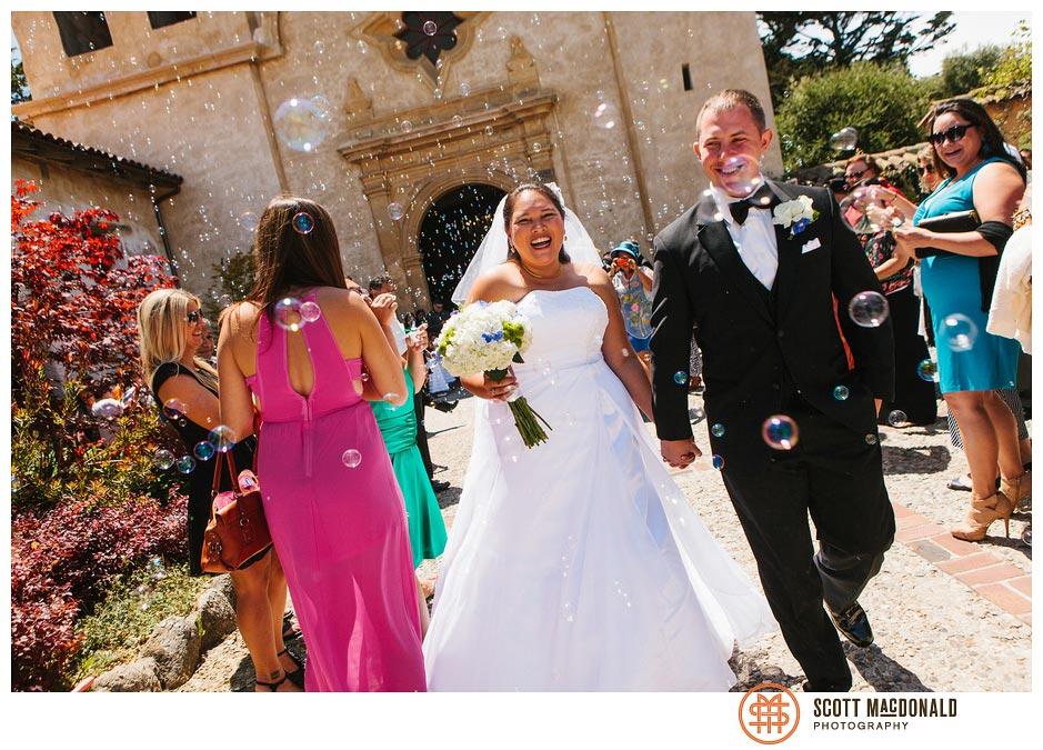 Roger Dean Chevy >> Jill & Mike's Carmel Mission wedding