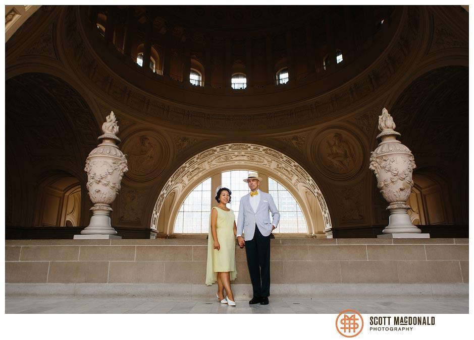 Leslie & Brendan's San Francisco City Hall wedding