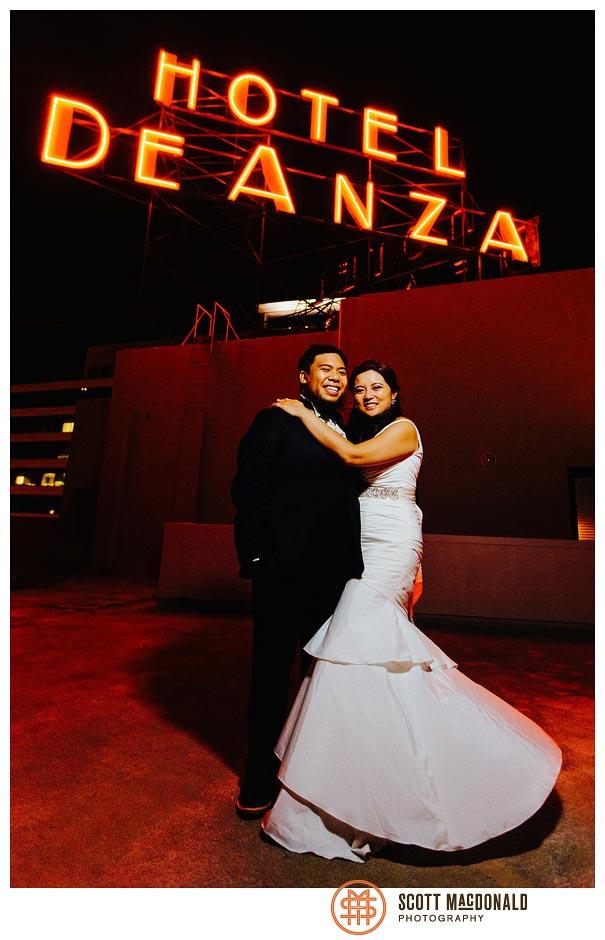 Rosiella & Jeffrey's downtown San Jose wedding